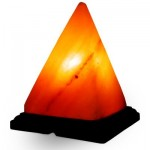 Piramit Şekilli Himalaya Tuz Lambası